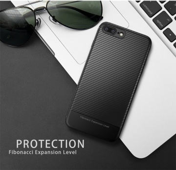 Ốp dẻo carbon iPhone 8 Plus